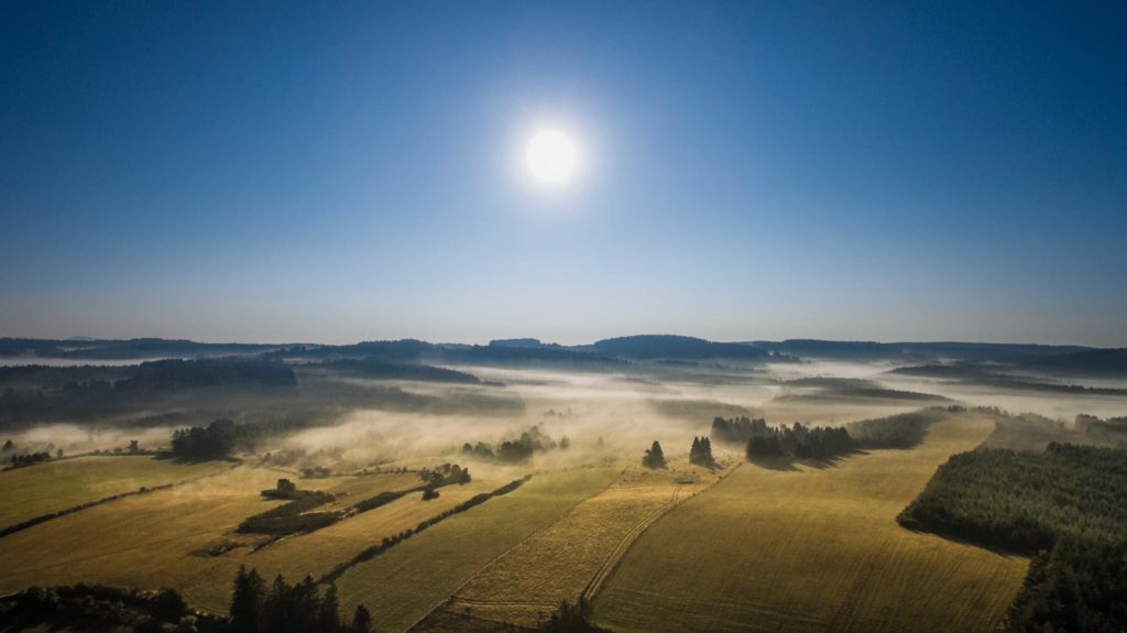 brume matinale de Millevache